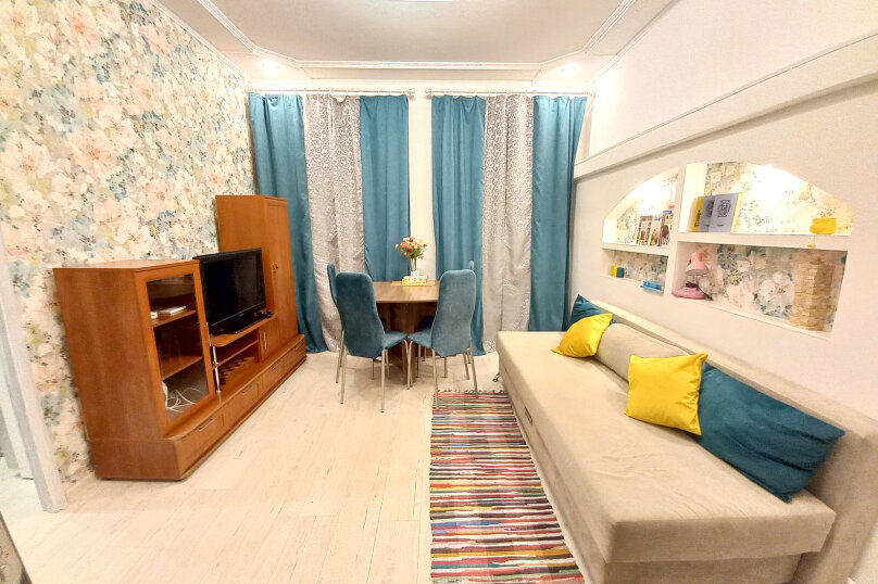 2-комн. квартира, 37 кв.м. на 5 человек, переулок Вахитова, 11, Нижний Новгород - Фотография 3