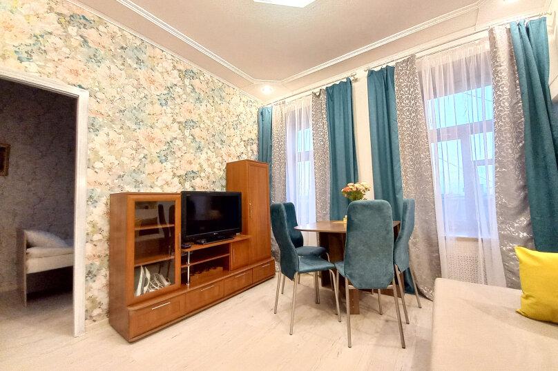 2-комн. квартира, 37 кв.м. на 5 человек, переулок Вахитова, 11, Нижний Новгород - Фотография 4