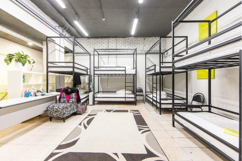 Спальное место на двух ярусной кровати в общем номере, Барнаульская улица, 40, Тюмень - Фотография 1