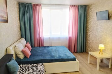 1-комн. квартира, 45 кв.м. на 4 человека, улица Олимпийский городок, 1, Рязань - Фотография 1