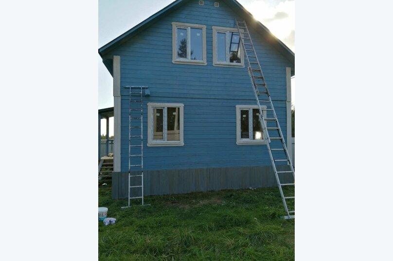 Загородный коттедж с сауной (синий коттедж №3), 70 кв.м. на 7 человек, 2 спальни, Всеволожский район, Выборгская улица, 156, Санкт-Петербург - Фотография 1
