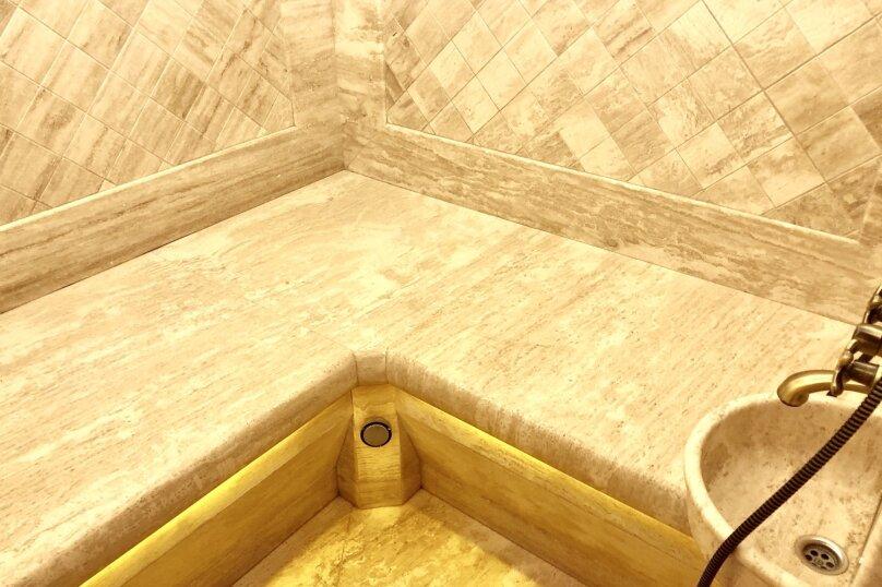 Шале с личным бассейном, турец хамамом, фин сауной , 70 кв.м. на 4 человека, 1 спальня, Симферопольское шоссе, 57/59, Феодосия - Фотография 21