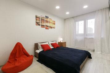 1-комн. квартира, 46 кв.м. на 4 человека, микрорайон Горский, 12, Новосибирск - Фотография 1