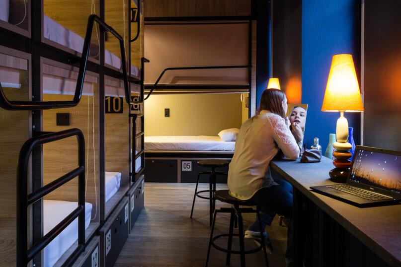 """Капсульный отель """"4U Capsule Hotel"""", Суворовский проспект, 1/8 на 36 номеров - Фотография 7"""