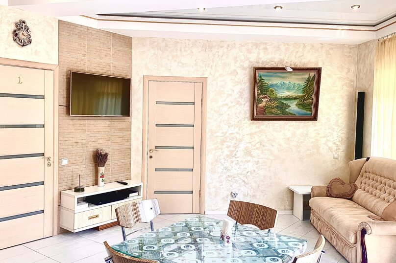 2-комн. квартира, 70 кв.м. на 5 человек, Парковая улица, 5А, Партенит - Фотография 6