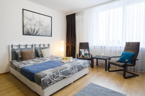 1-комн. квартира, 43 кв.м. на 4 человека, Садовая улица, 6, Белгород - Фотография 1